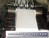 Máquina de Imprenta para fabricar rollos de papel Bond, Químico, Térmico