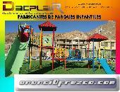 Juegos de parques infantiles de plástico con fibra de vidrio