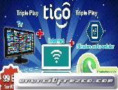 Triple Play de TIGO a solo 99Bs.