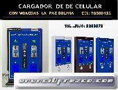 CARGADOR DE CELULAR CON MONEDAS 4