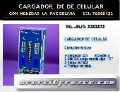 CARGADOR DE CELULAR CON MONEDAS 5