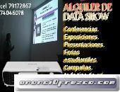 ALQUILER DE DATA SHOW O PROYECTORA 79172867