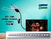 ANTENA Y CABLE COAXIAL TV FULL HD