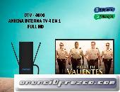 ANTENA INTERNA TV AMPLIFICADA FULL HD