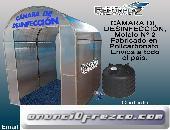 RIASE DEL CORONAVIRUS, ADQUIERA SU CAMARA  DE DESINFECCION