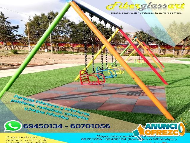 Lindos parques para niñod