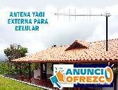 ANTENA YAGI AQUARIO EXTERNA PARA CELULAR WIFI INTERNET CF-914, CF-814, CF-714
